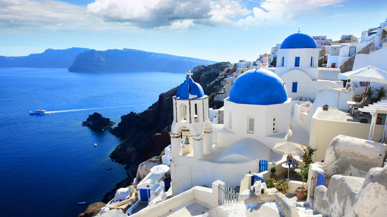 Cruise Greece Yachts - Santorini yachting