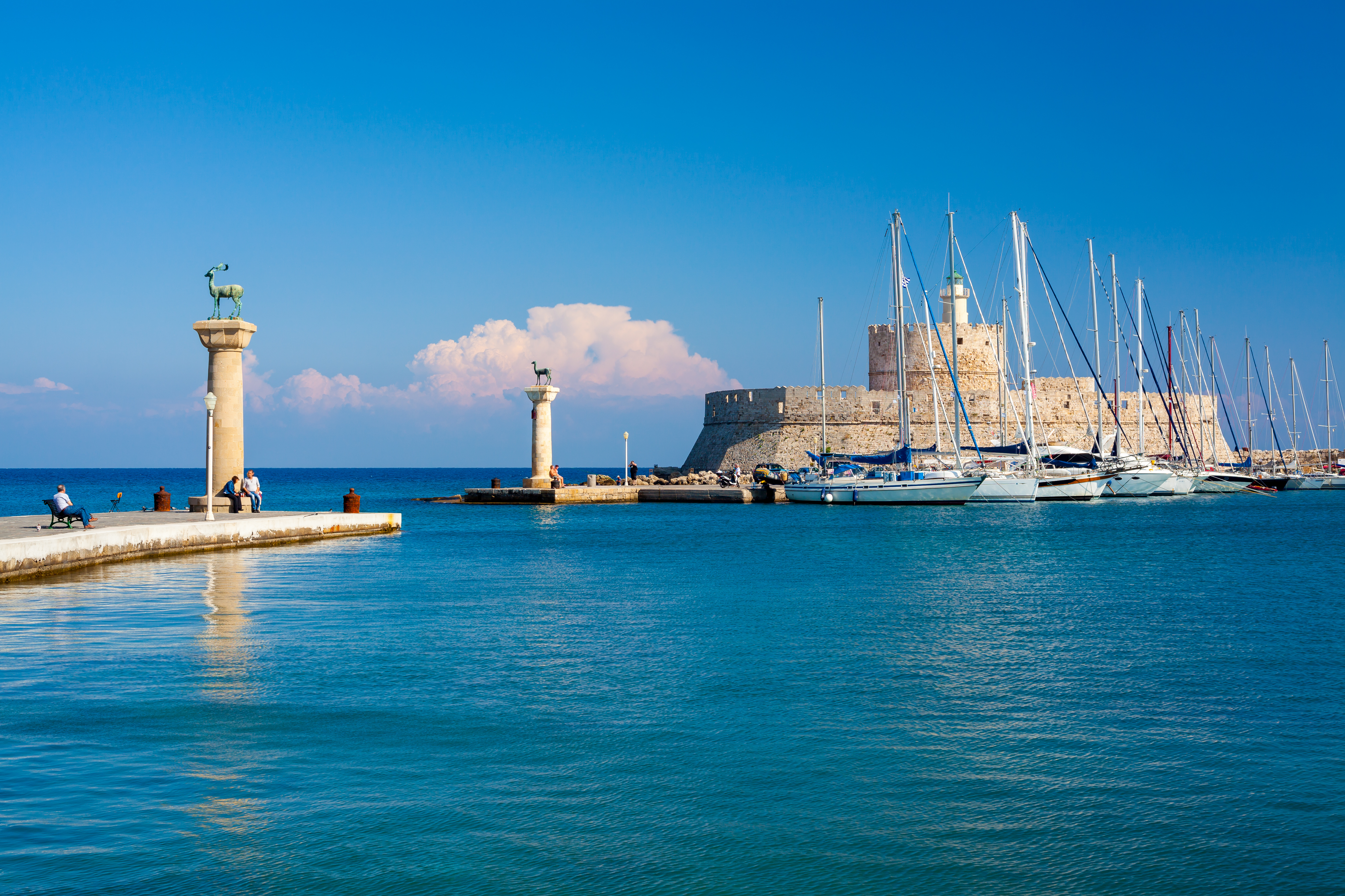 Cruise Greece Yachts - sailing destination Rhodes